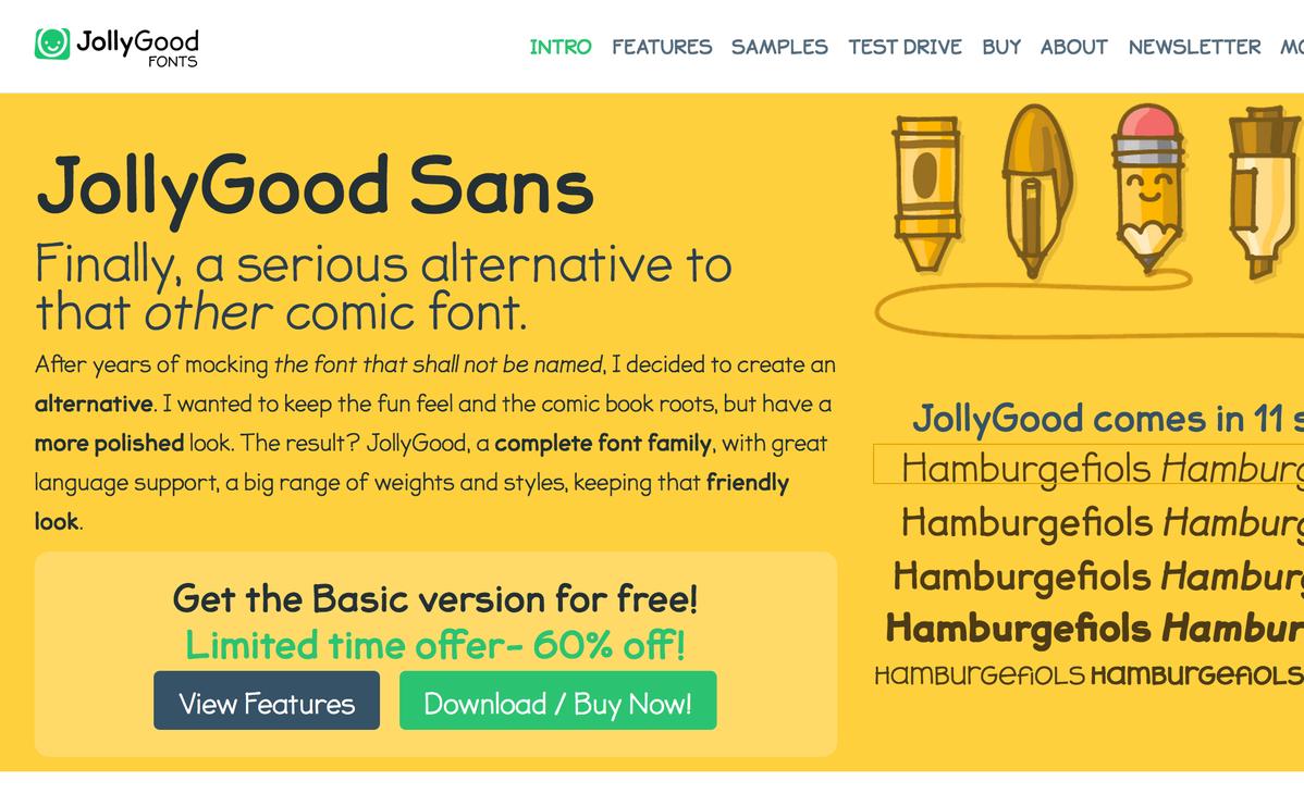 JollyGood Sans