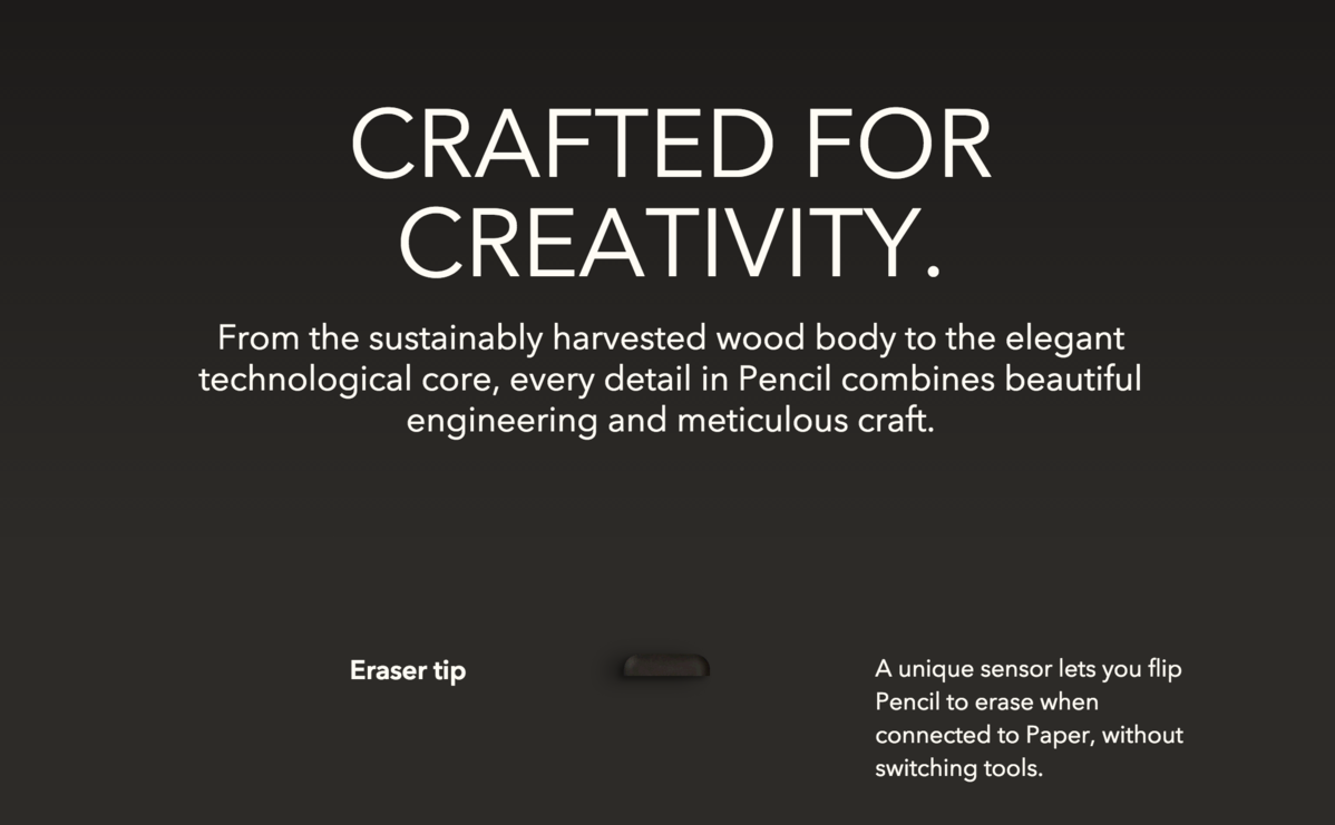 Avenir Next in action on fiftythree com | Typ io