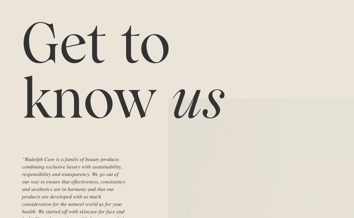 Adobe Caslon with Wulkan Display